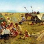 -Крестьянский-обед-в-поле