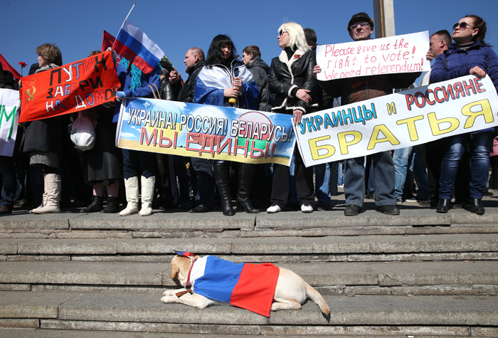Митинг Украина Беларусь